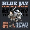 Blue Jay The Pirate on Stage at The Portland Stage
